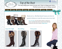 ecommerce-website-top-of-the-boot